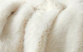 Synthetic fur artic fox Z330