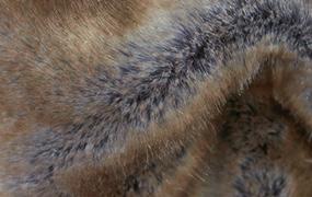 Synthetic fur blue fox Z339