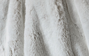 Synthetic fur ermine Z507